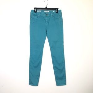 Vigoss The Jagger Super Skinny Jean in teal